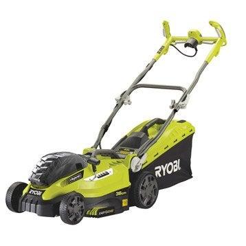 Tondeuse tondeuse gazon tracteur pelouse autoport e for Tondeuse a batterie ryobi