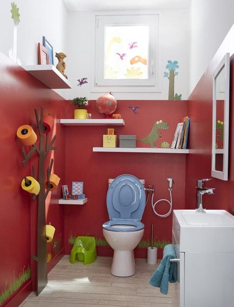 Un espace WC bien aménagé