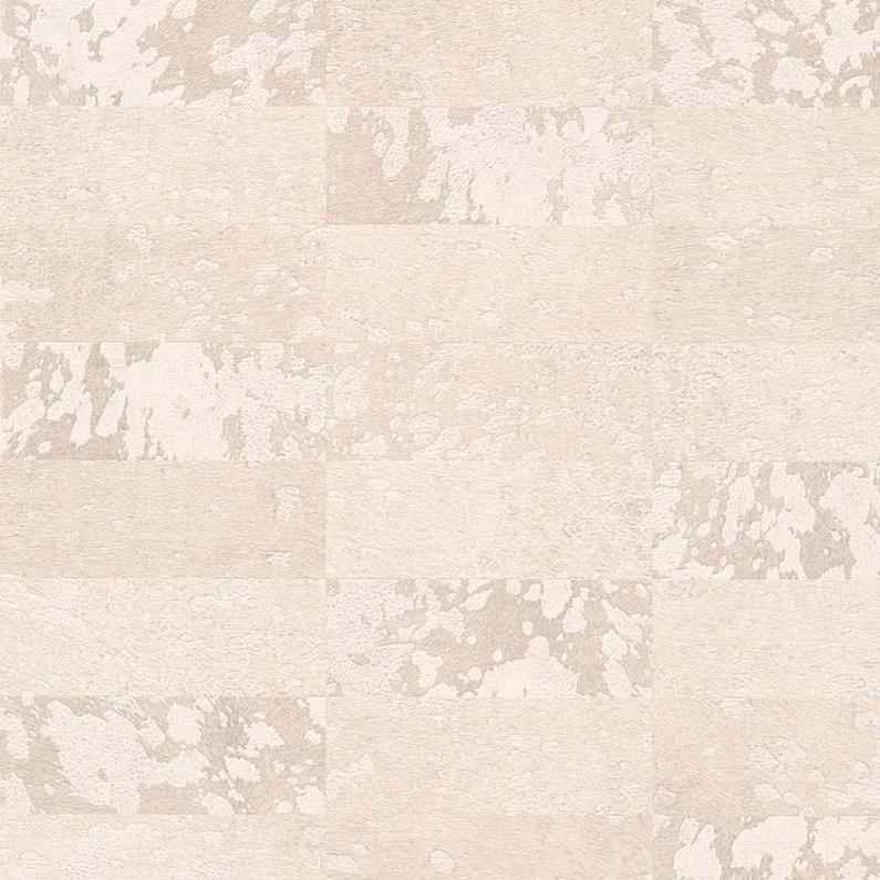 Papier Peint Vinyle Carre Poulain Beige Rose Leroy Merlin