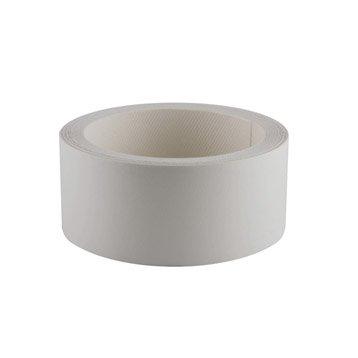 Bande de chant thermocollante blanc PRIMO, L.500 x l.4.2 cm