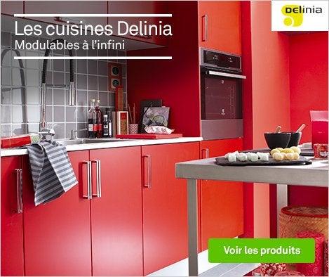 Meuble de cuisine cuisine am nag e cuisine quip e en for Concevoir ma cuisine