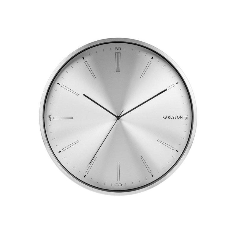 Horloge Métal Distinct Ronde Karlsson L40 X H40 Cm