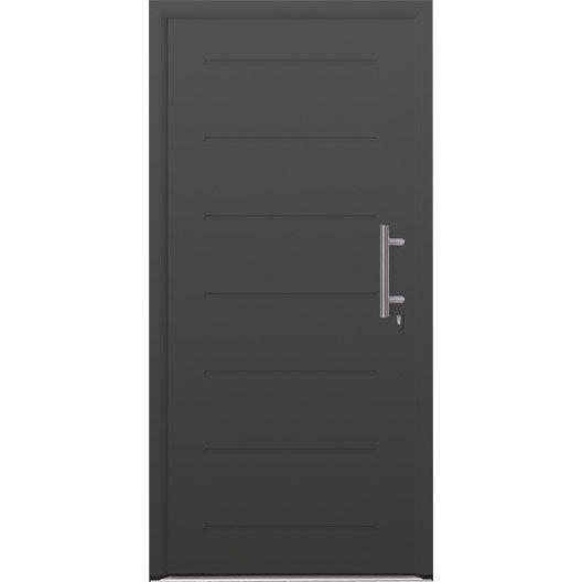 porte d 39 entr e acier must hormann poussant gauche x. Black Bedroom Furniture Sets. Home Design Ideas