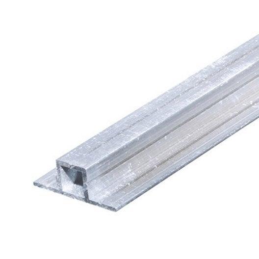 tube carr aluminium brut l 1 m x l cm x h cm leroy merlin. Black Bedroom Furniture Sets. Home Design Ideas