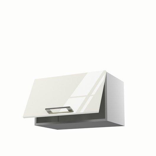 meuble de cuisine haut beige 1 porte perle x x p. Black Bedroom Furniture Sets. Home Design Ideas