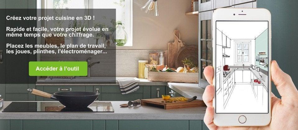 Meuble De Cuisine Delinia Cuisine Equipee Amenagee Modulable