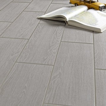 Carrelage int rieur sol et mural leroy merlin for Carrelage sol interieur gris clair