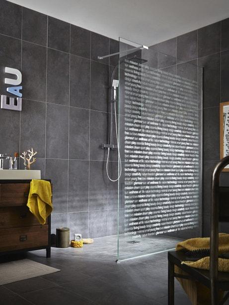 Une douche à l'italienne esprit loft