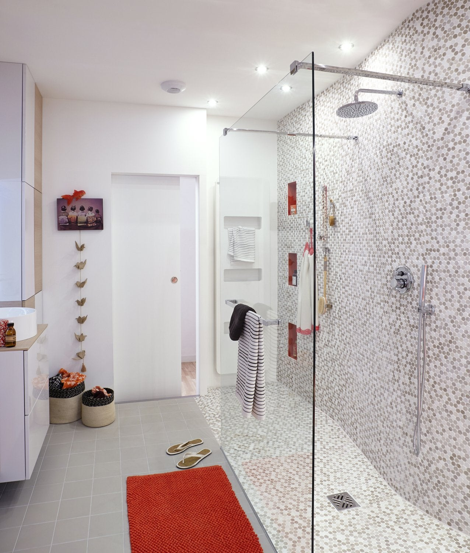 Bienvenue sous la douche
