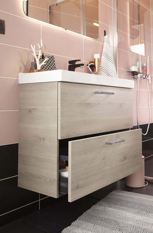 Un meuble de rangement sous vasque | Leroy Merlin