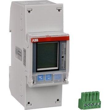 Compteur de consommation ABB, 230 V, 65 A