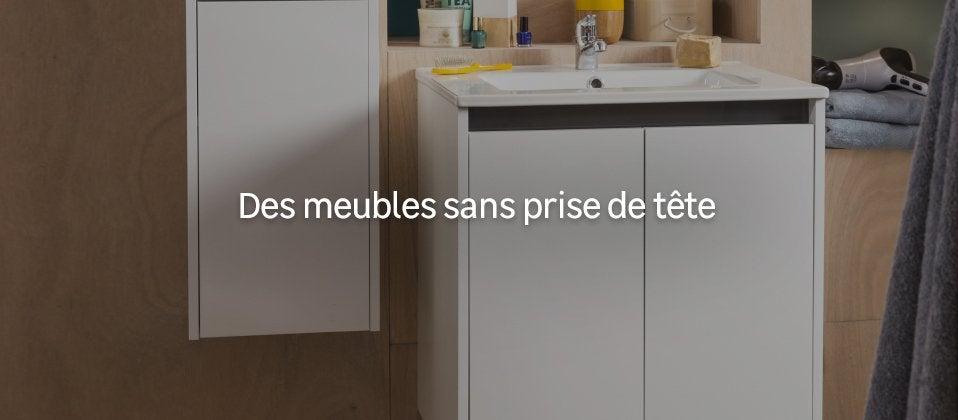 meuble salle de bain pas cher ensemble salle de bain au meilleur prix leroy merlin. Black Bedroom Furniture Sets. Home Design Ideas