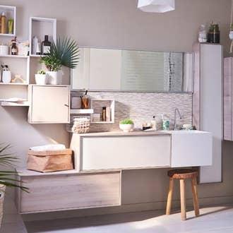 meuble salle de bain leroy merlin catalogue