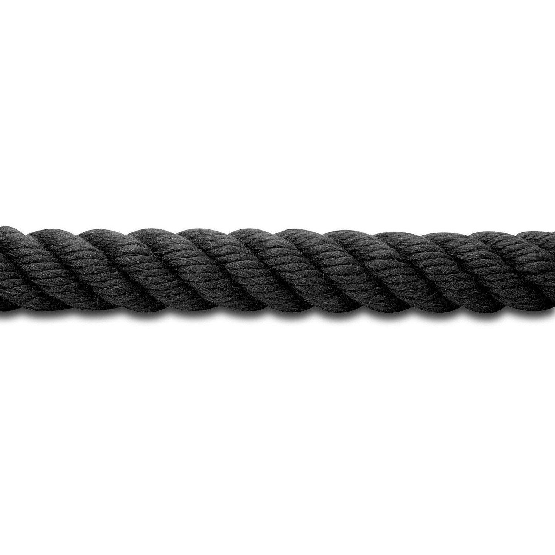 corde 2.6 mm 20m Bleu polypropylène tressé cordon