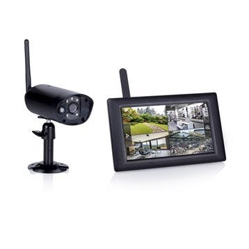 cam ra de surveillance vid osurveillance leroy merlin. Black Bedroom Furniture Sets. Home Design Ideas