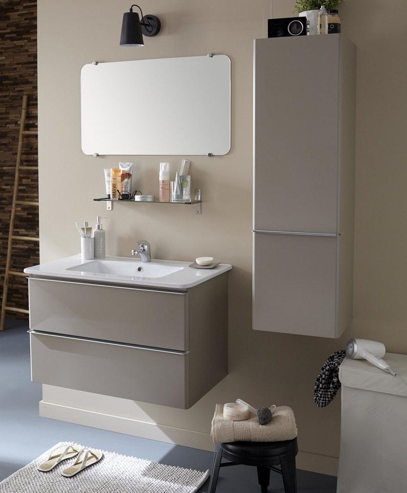 Une vasque large bord pour poser les objets de la salle for Objet de salle de bain 94