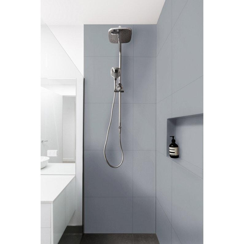 Peinture Salle de bain meubles, carrelages muraux, intérieur de douche,  gris gal