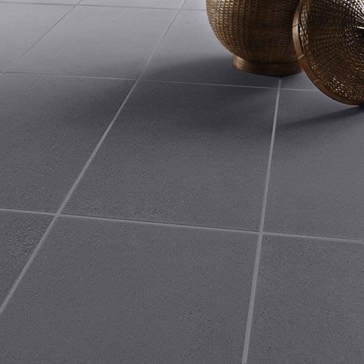 Carrelage sol et mur noir effet pierre surface x for Joint carrelage noir