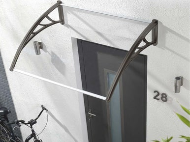 poser un auvent leroy merlin. Black Bedroom Furniture Sets. Home Design Ideas