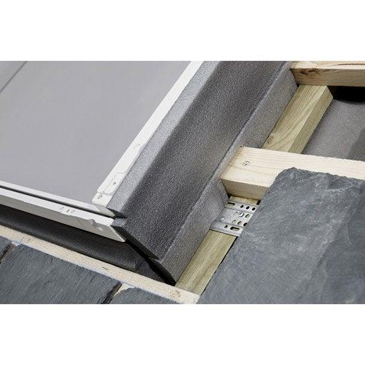 Raccord pour fen tre de toit velux el ck01 6000 gris for Remplacer une fenetre de toit