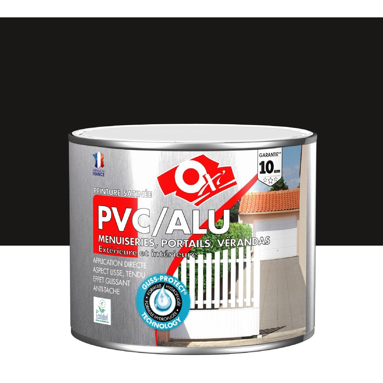 Peinture PVC / Aluminium / Galva Extérieur Oxy OXYTOL, Noir Graphite, 1.5 L