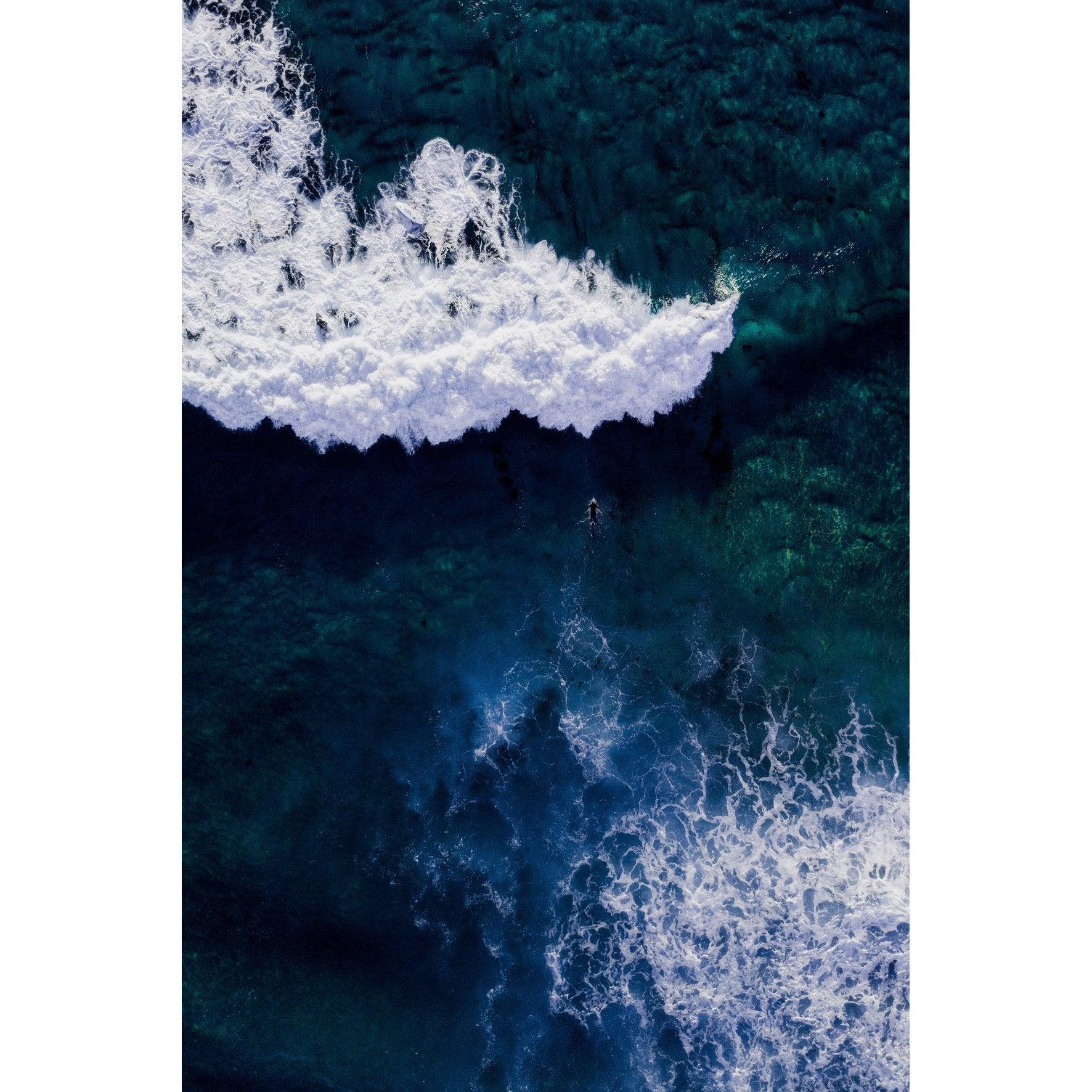 Image encadrée Mat mer, multicouleur ARTIS l.80.2 x H.120.2 cm