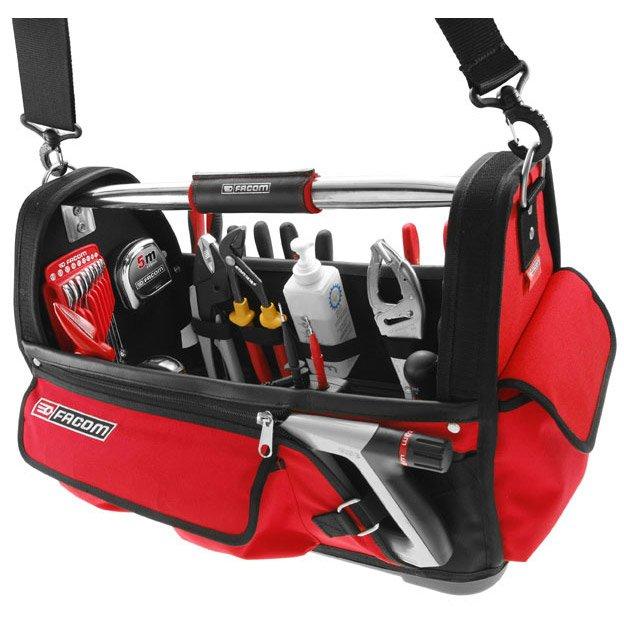 06eff8a78c Sac à outils FACOM, L.49 cm, rouge et noir | Leroy Merlin