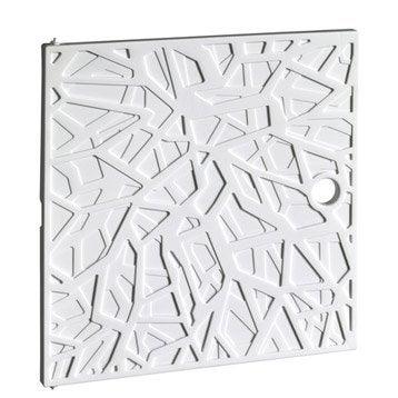 Porte MULTIKAZ, blanc H.32.2 x l.32.2 x P.1.4 cm