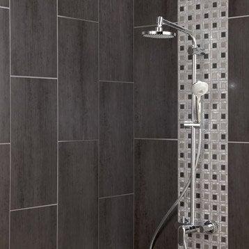 Carrelage mural et fa ence pour salle de bains et cr dence for Salle de bain carrelage gris beton