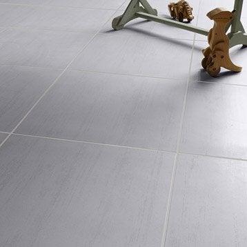 carrelage sol et mur gris clair effet bton eiffel l45 x l45 - Carrelage Gris Mur