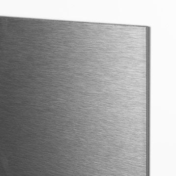 Panneau H.200 cm x l.100 cm, DECO K IN, Alu brossé