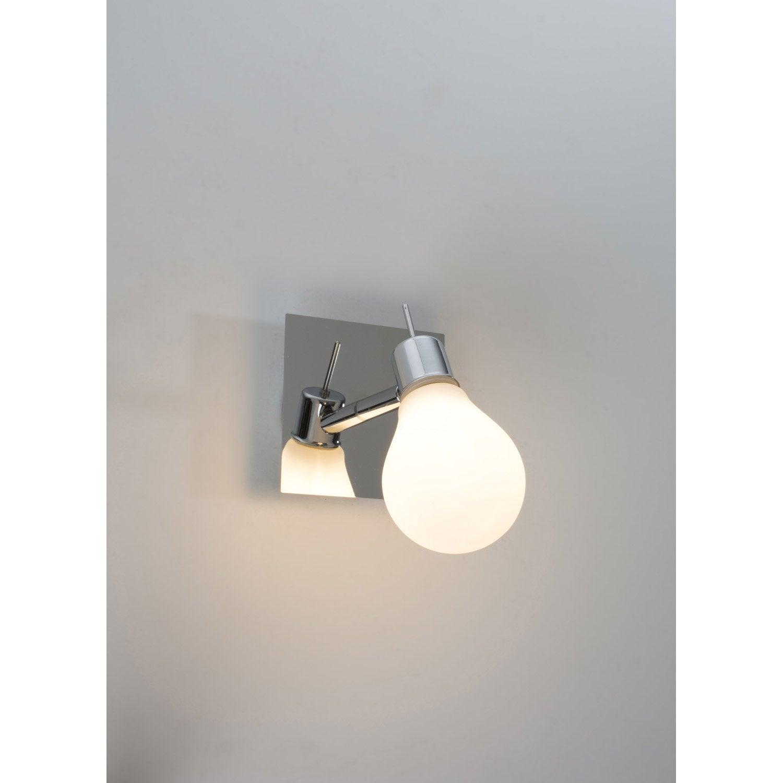 Applique Edison, LED 1 x 3.5 W, G9 blanc chaud