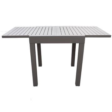 Table de jardin aluminium, bois, résine au meilleur prix | Leroy Merlin