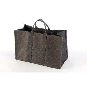 554cf01e12d2 Panier à bûches, sac à bûches, range bûches, range granulés au ...