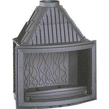 Foyer à bois façade galbée INVICTA 6285-44 14 kW