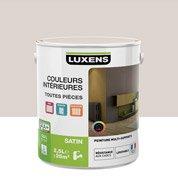 Peinture gris poivre 6 LUXENS Couleurs intérieures satin 2.5 l