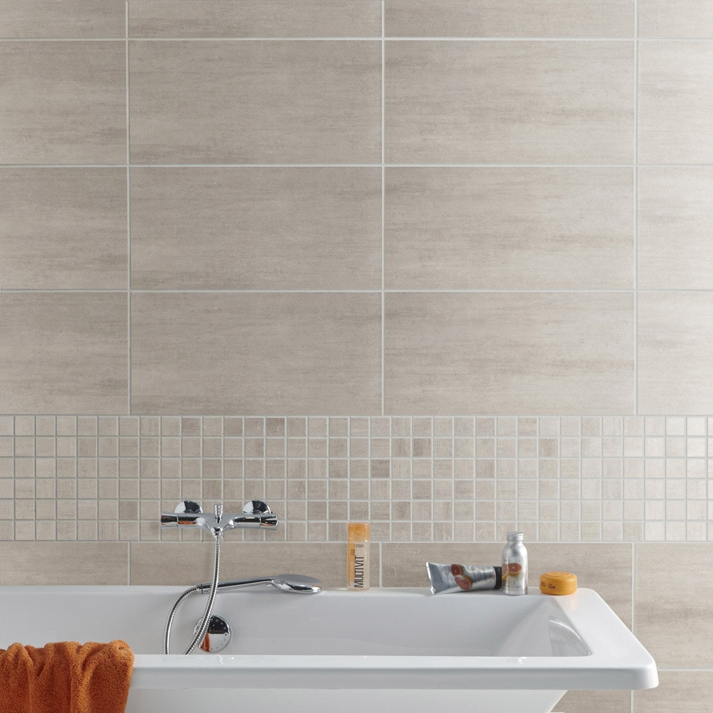 carrelage sol et mur greige eiffel x cm. Black Bedroom Furniture Sets. Home Design Ideas