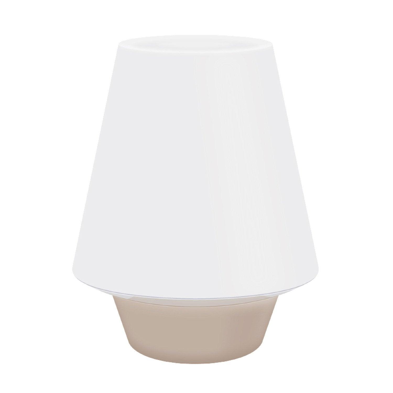 LampeLed Taupe3 SeynavePlastique Et Blanc Kim Intégrée W 6 5q4Aj3RL