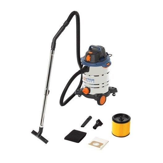 aspirateur eau et poussières dexter power 30l, 17 kpa, 30 l