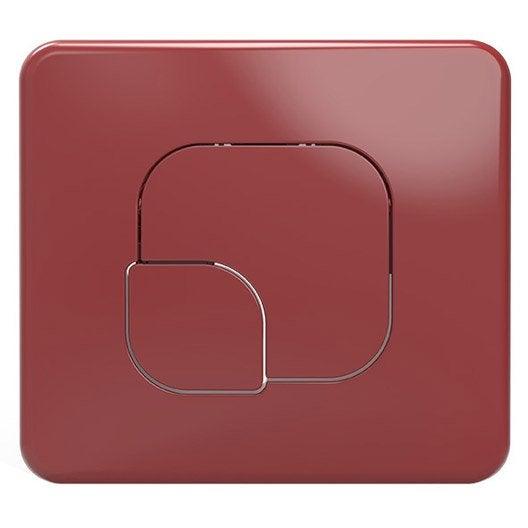 plaque de commande pour wc suspendu remix leroy merlin. Black Bedroom Furniture Sets. Home Design Ideas
