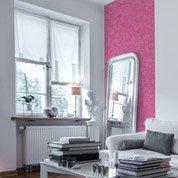 Papier peint papier Coloria rose