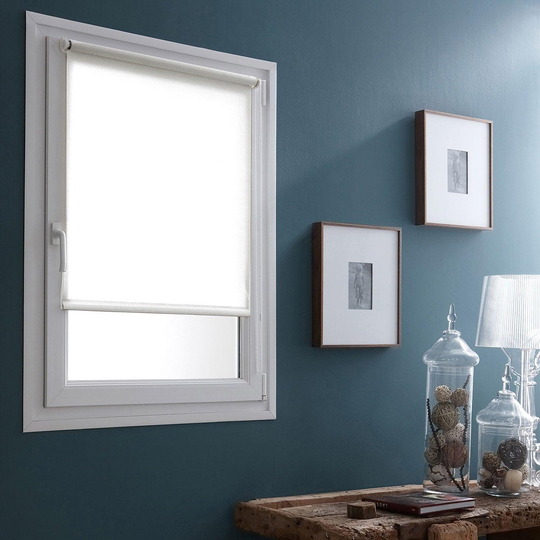 store enrouleur tamisant easy voilage blanc 35x170 cm leroy merlin. Black Bedroom Furniture Sets. Home Design Ideas