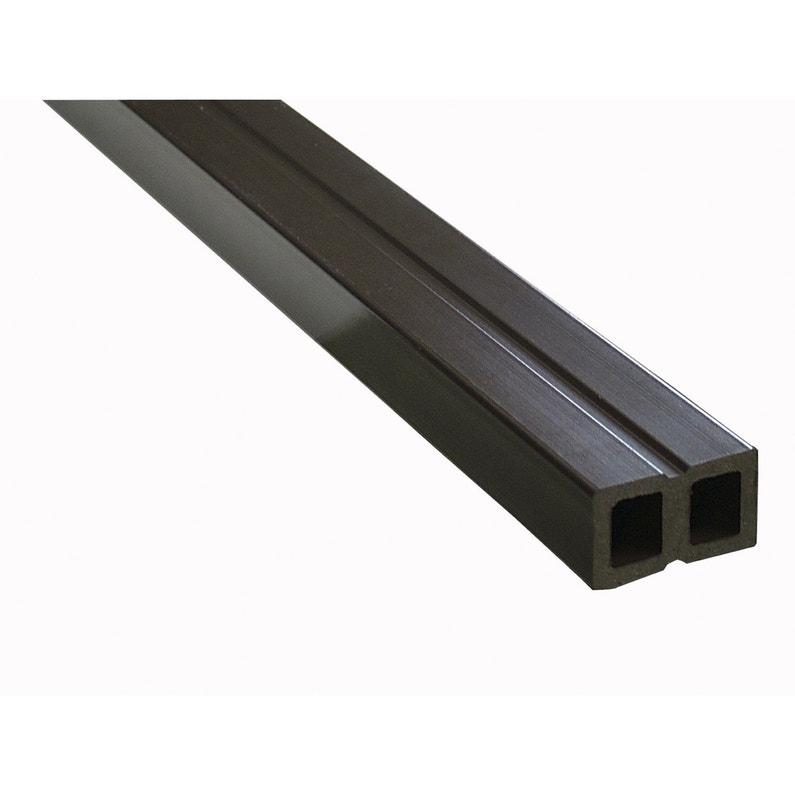 Lambourde Pour Terrasse Composite Primo L 2 2 M X L 5 Cm X Ep 30 Mm