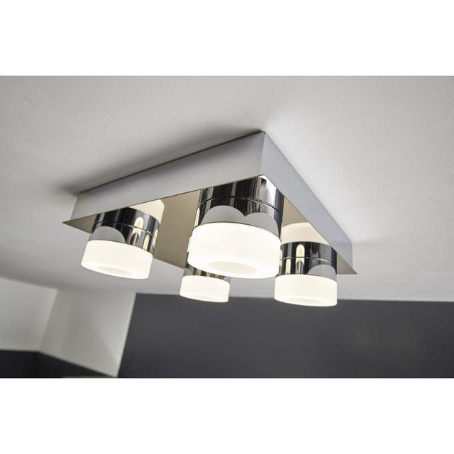 Un Plafonnier Design Pour La Salle De Bains Leroy Merlin