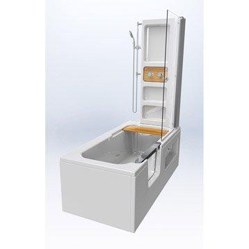 baignoire porte baignoire douche salle de bains leroy merlin. Black Bedroom Furniture Sets. Home Design Ideas