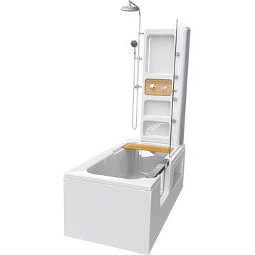 Baignoire porte baignoire douche salle de bains - Baignoire design leroy merlin ...