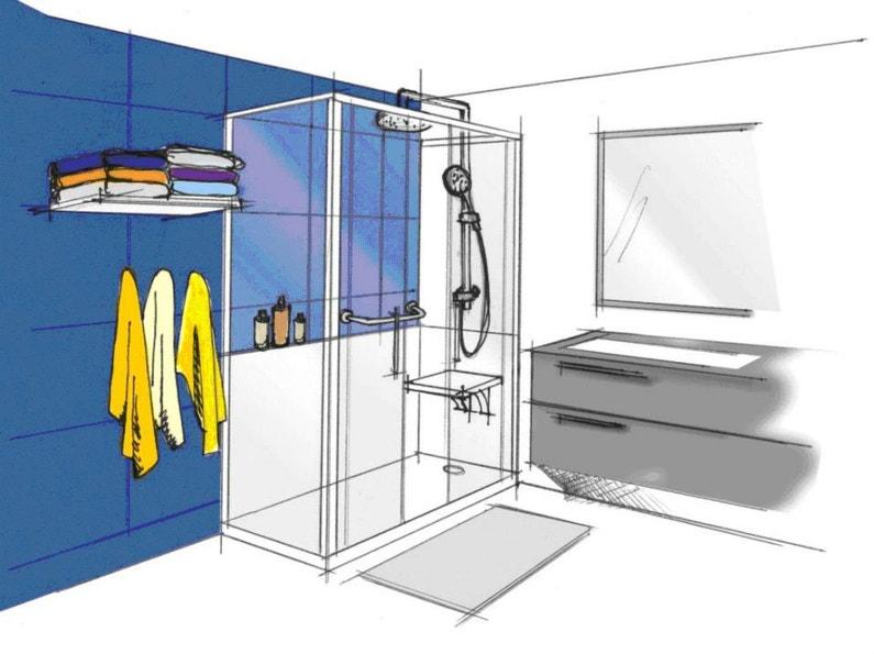 3 idées pour remplacer sa baignoire par une douche