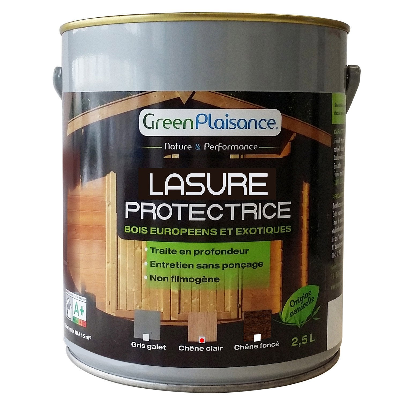 lasure pour bois green plaisance ch ne clair 2 5 l. Black Bedroom Furniture Sets. Home Design Ideas
