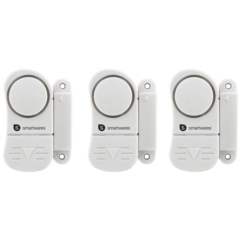 Kit Mini Alarme Pour Porte Et Fenêtre SMARTWARES Sc07/3 ... Bonnes Idees