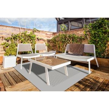 Coussin de jardin,tapis de jardin et pouf d\'extérieur ...